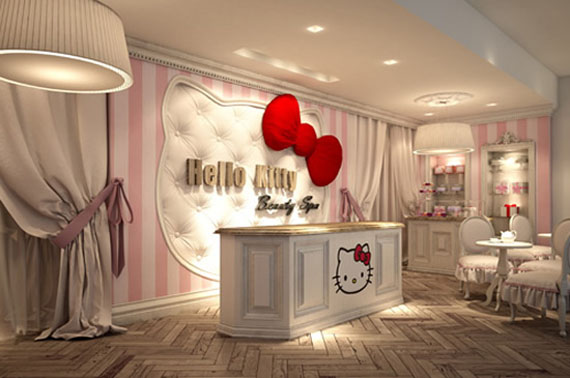 what's new pussycat? it's the hello kitty beauty spa!