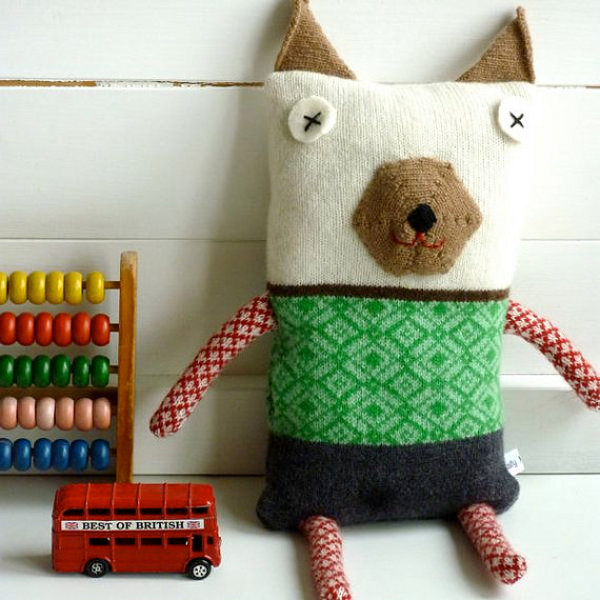 Sally Nencini, knitted toys