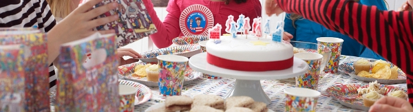Talking Tables, Where's Wally birthday party