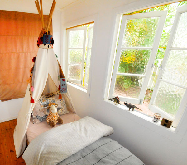 tipi bed 1 Babyology Exclusive   Find bedtime fun with Bed Tipi from Lisas Closet