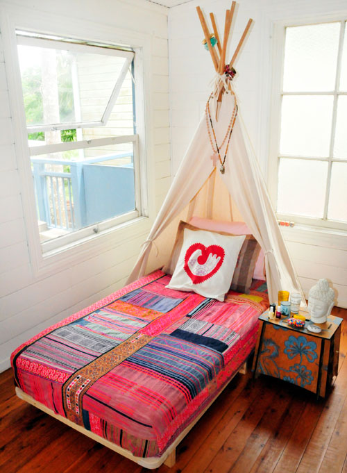 tipi bed 3 Babyology Exclusive   Find bedtime fun with Bed Tipi from Lisas Closet