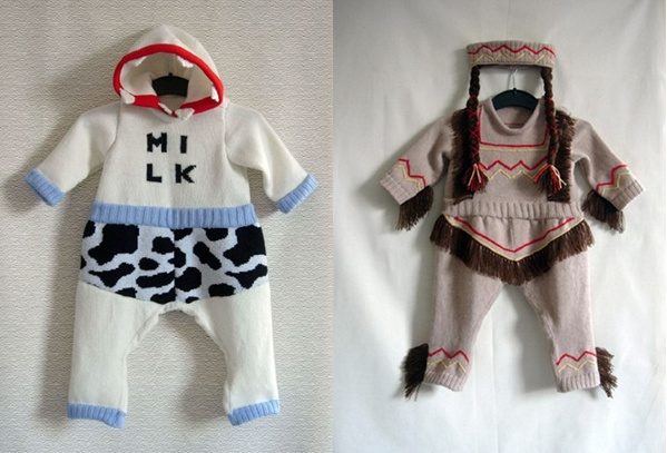 babygrows2 Amazing knits for baby from The Miniature Knit Shop