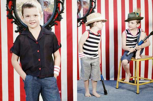 Knuffle Kid summer 2012 ringmaster shorts
