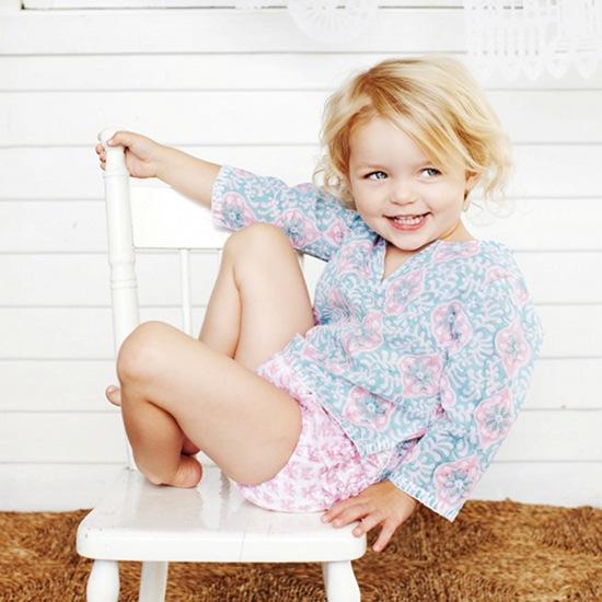 Children's clothing from Haveli Design
