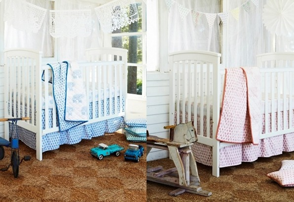 Beautiful cot linen from Haveli