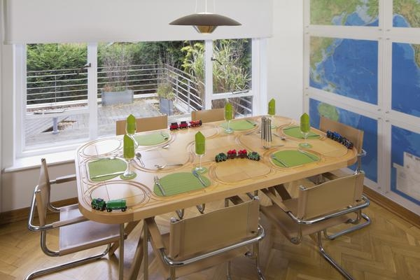 TrackTile dining tables