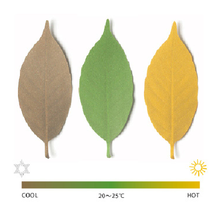Leaf Thermometer21 Leaf Thermometer   the heat sensitive nursery decor
