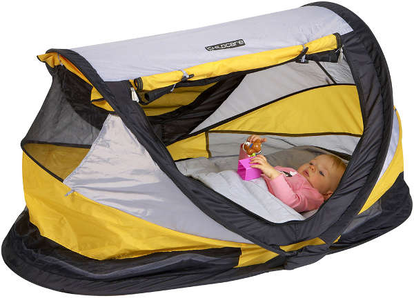 childcare-peuter-luxe-dome-yellow-grey  sc 1 st  Babyology & Baby let me sleep on it u2013 a round-up of travel cots
