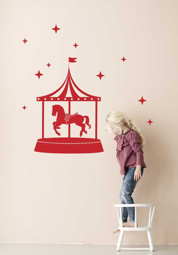 fermcircus red Update   new kids collections from Ferm Living