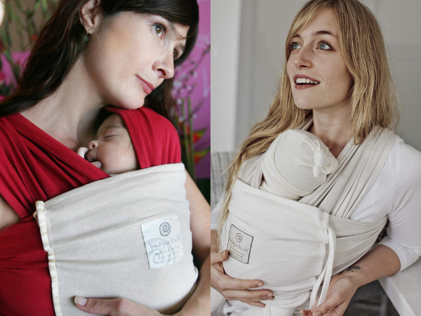 Hug a Bub organic baby carrier