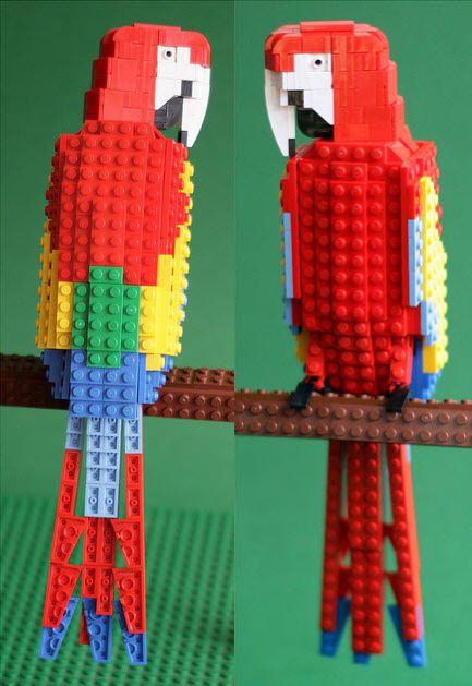 lego robin bird instructions