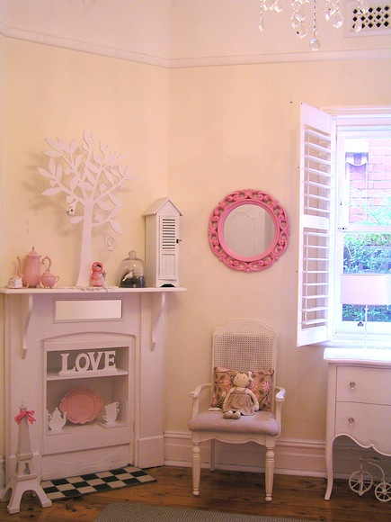 ... -packed full of girly inspiration with Rihanna's shabby chic haven