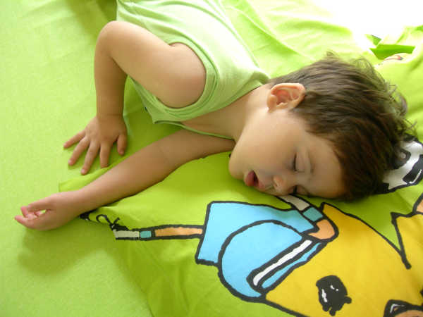 sleeping boy 1 1 Can infant sleep problems have a lasting impact?