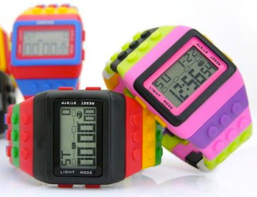 Brick digital watch Babyology Christmas Gift Guide – eight to twelve years