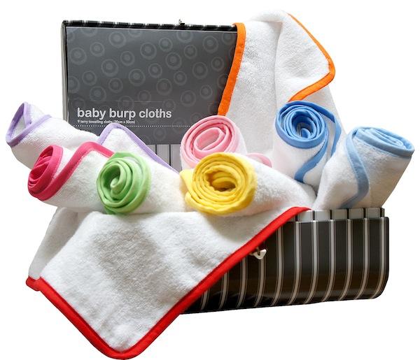 Bubaloo burp cloths