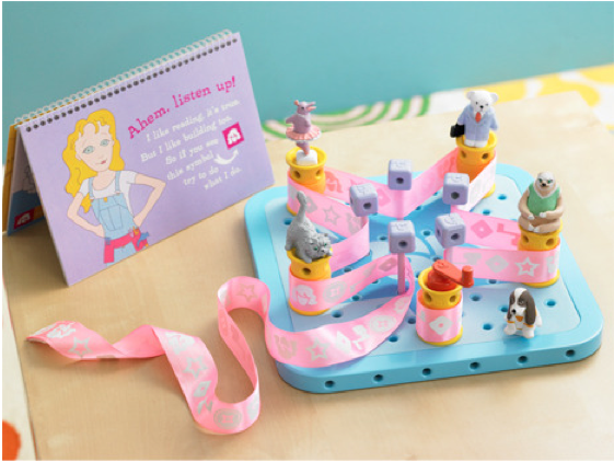 Engineering toy for little girls