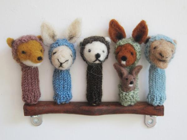 hand made puppet
