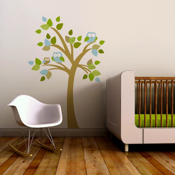 beautiful nursery wall decals