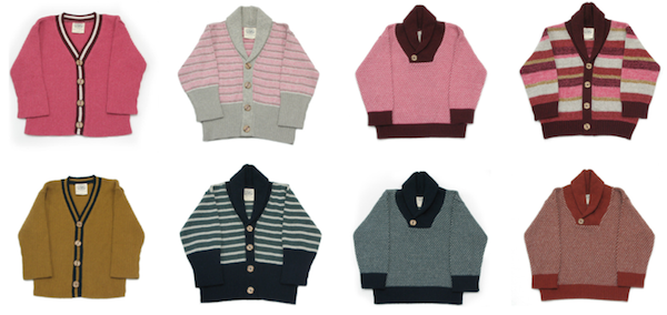 knits for hipster kids