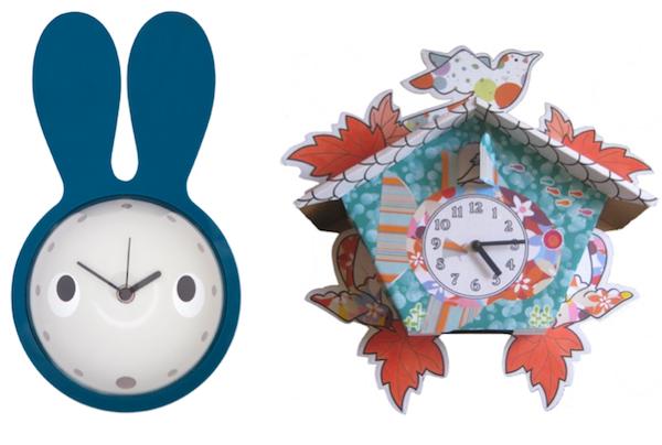 funky clocks for kids