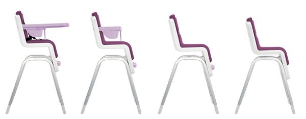 colourful high chair