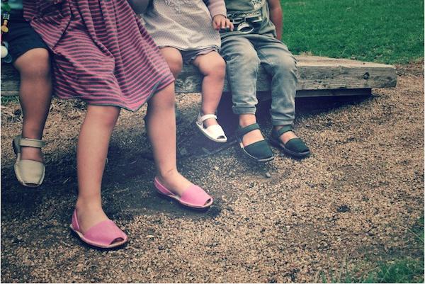 hand made children's footwear