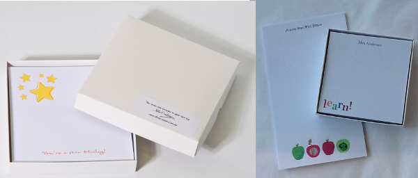 Personalised stationery from Note Couture