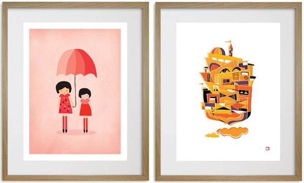 printspace gallery 1 Create a stunning gallery with Printspace art prints