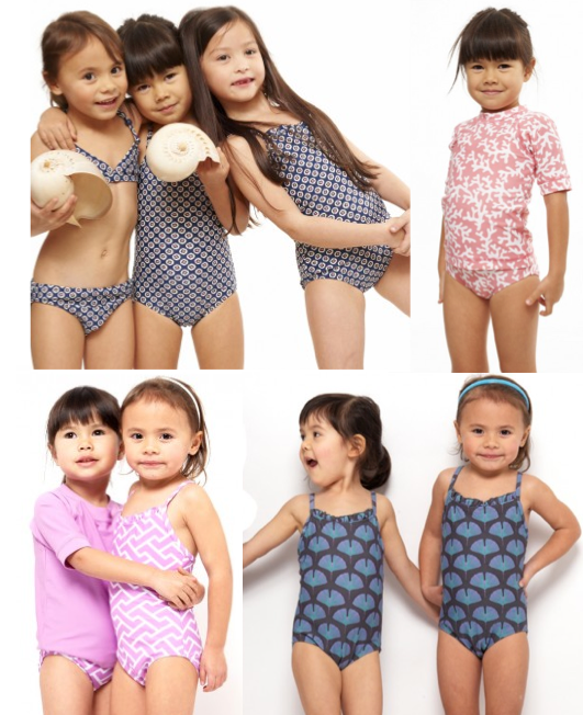 cute kids swimwear