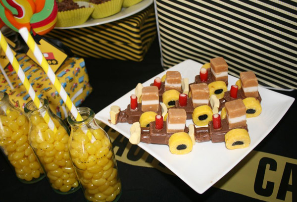 chocolate candy tractor trucks