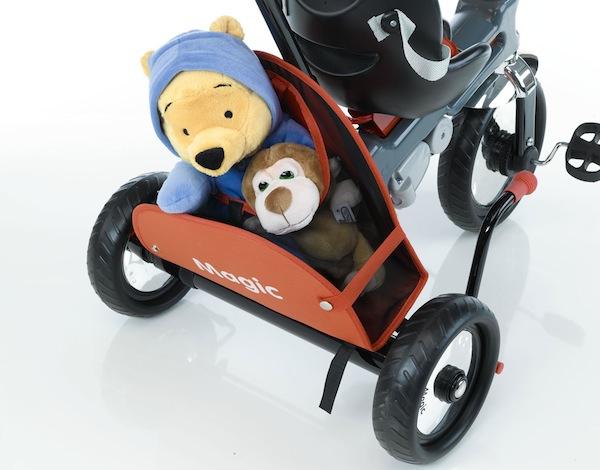 Azzurro5 Toddler trikes for thrills, not spills