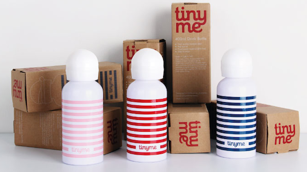 nautical stripy drink bottles