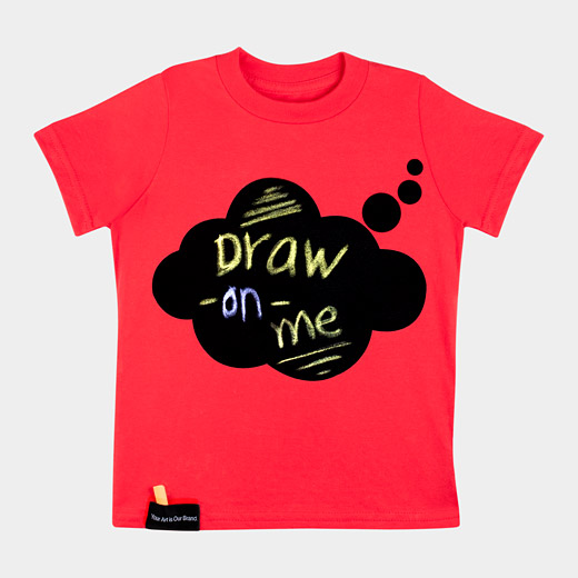 T-shirt chalkboard from MoMA
