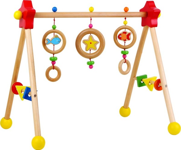Discoveroo Wooden Baby Play Gym Youll Love It Too
