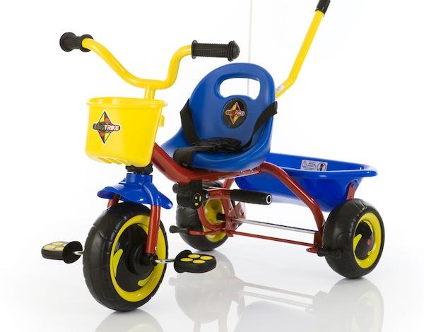 eurotrike Toddler trikes for thrills, not spills