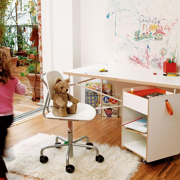 kinder Master Once was a change table... Famille Garage furniture by Richard Lampert