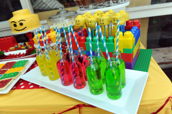 Lego party drinks