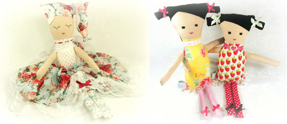 Miss Kiki of Cherry Blossom Lane custom dolls