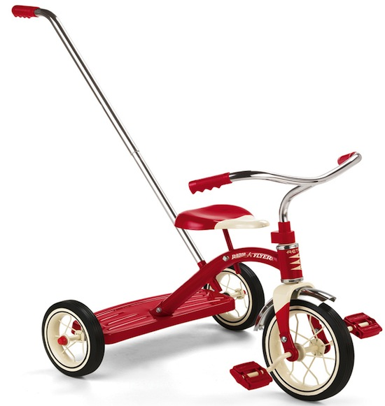 radio flyer classic Toddler trikes for thrills, not spills