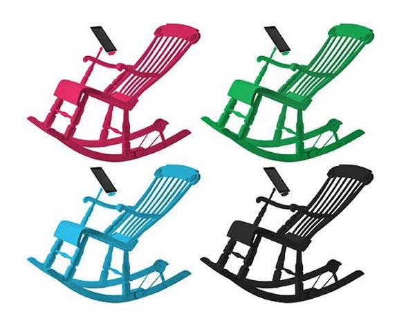 iRock rocking chair by Micasa LAB