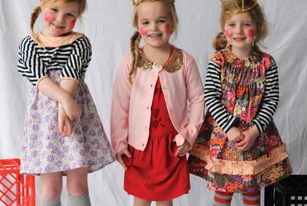 beautiful little girl's clothes
