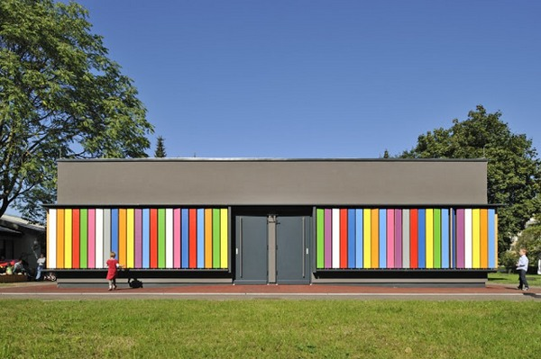 Kindergarten Kekec By Arhitektura Jure Kotnik Photographs Miran KambiÄ 14 Spin some colour at Kindergarten Kekec
