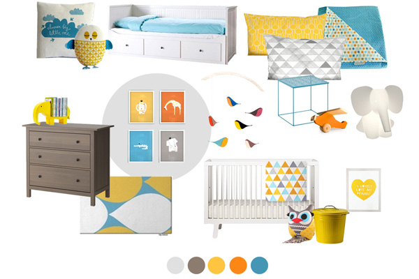 Leo nursery moodboard  Show us your nursery   Leos superbly styled space