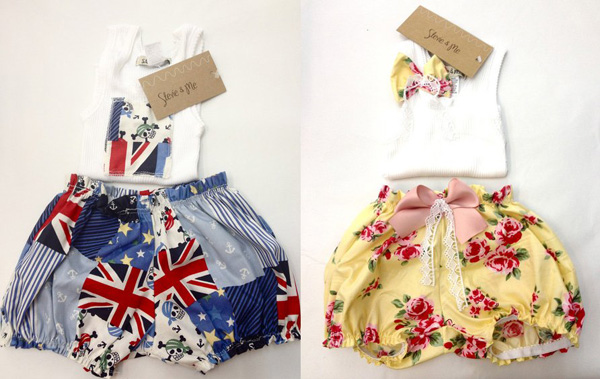 Stevie and me bloomers web Stevie & Me   sweet summer fashion for babies and girls