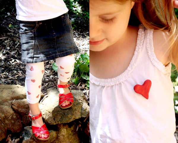The happy home leggings web Made with love   our guide to a DIY Valentines Day!