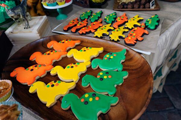 biscotti a forma di dinosauro