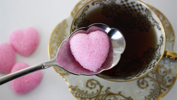 homemade heart sugar cubes web Made with love   our guide to a DIY Valentines Day!