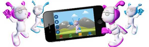 ibitz Kids character app The Ibitz – a virtual world where children's physical activity unlocks privileges