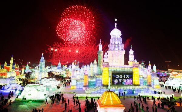 ice and snow world 7 Brrrr! Its the Harbin International Ice and Snow Festival