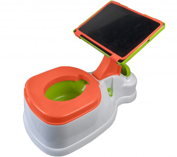 ipotty iPotty   the iPad accessory making toilet training a technical business!